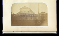 View Of Mr. Stewart's Blackwall Ironworks, Millwall part A0
